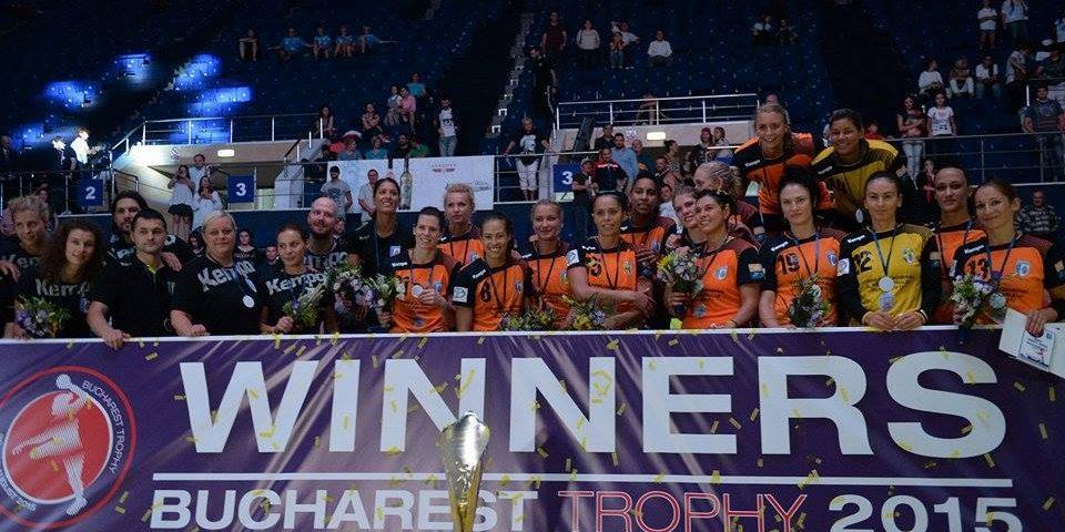 CSM București câștigă și a doua ediție a Bucharest Trophy