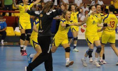 Naționala under 17 va evolua în finala mică a Europenelor de handbal fete din Macedonia