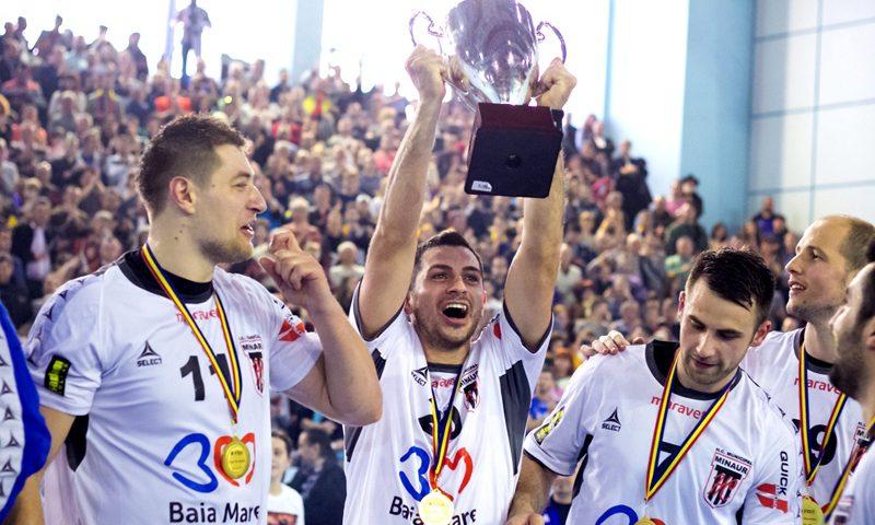 Echipele de handbal din Baia Mare câștigă Supercupa României la Polivalenta bucureșteană