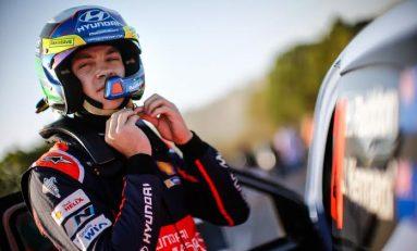 Hayden Paddon va pilota pentru Hyundai Shell WRT in Raliul Australiei