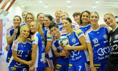 HCM Baia Mare vs Team Esbjerg, în finala turneului preliminar pentru grupele Ligii feminine a Campionilor
