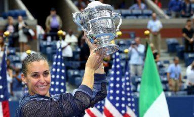 Flavia Pennetta, 33 de ani, campioană la US Open. Francezii Herbert-Mahut, învingători la dublu