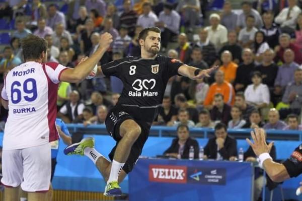 Minaur Baia Mare, prima victorie în grupele Ligii masculine a Campionilor la handbal