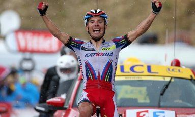 Rodriguez se impune în a 15-a etapă din Vuelta și ajunge la o secundă în urma liderului Aru