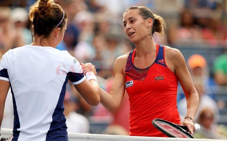 Simona Halep pierde semifinala de la US Open cu Flavia Pennetta în 59 de minute