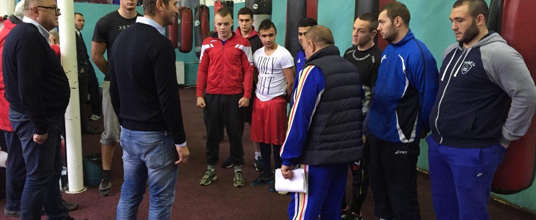 COSR.  Alin Petrache și Ioan Dobrescu, la Sport Club Bacău