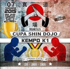 Prima ediție a Cupei Shin Dojo-Kempo K1
