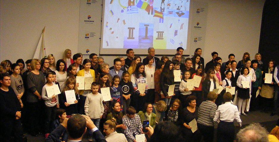 """Premierea laureaților concursului """"Jocurile Olimpice în imaginația copiilor"""""""