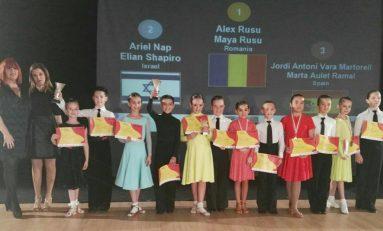 Romania pe primul loc in Spania la DANCE SPORT CUP MADRID 2016