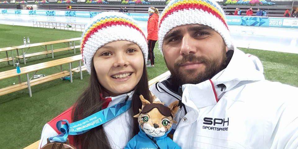 Mihaela Hogas, medalie de bronz la patinaj viteza