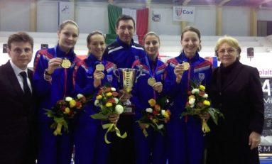 CSA Steaua a câștigat Cupa Europei la spadă feminin de la Caserta (Italia)