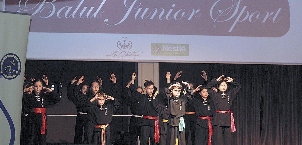 Juniorii de azi, campionii de mâine