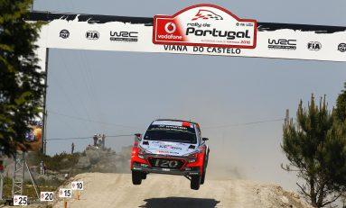 Hyundai Motorsport si-a imbunatatit performantele anterioare din Raliul Portugaliei
