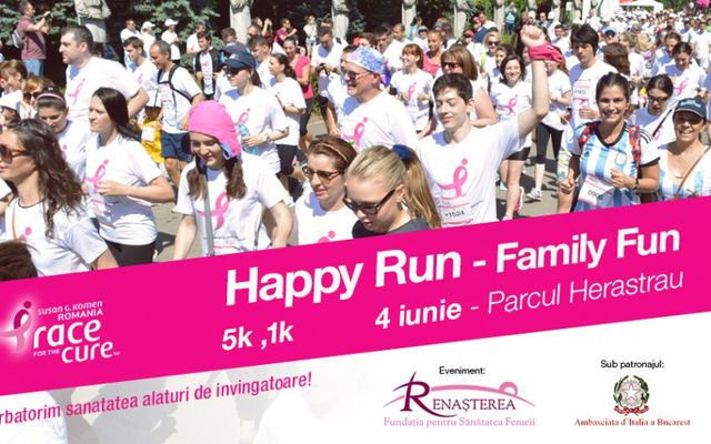 HAPPY RUN – RACE FOR THE CURE