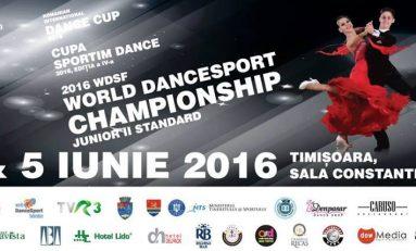 CAMPIONATUL MONDIAL DE DANS SPORTIV, WDSF WORLD DANCESPORT CHAMPIONSHIP JUNIOR II STANDARD, 4-5 iunie 2016, Timisoara, Romania