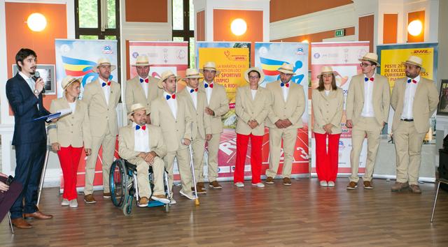 Echipa Paralimpica a Romaniei a fost prezentata oficial la Cluj-Napoca