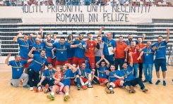 CS Dinamo a revenit pe podiumul handbalistic
