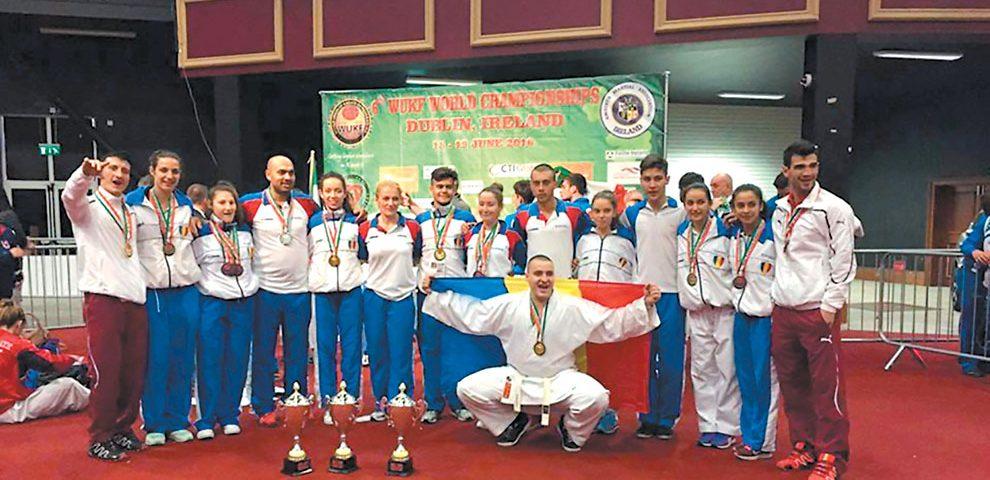 Karateka rapidişti au confirmat la Campionatul Mondial