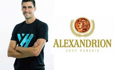"""Alexandrion Grup sprijină taberele """"Train Like a Pro"""" ale lui Victor Hănescu"""