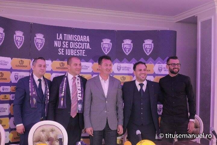 Alexandrion Grup continuă parteneriatul cu ASU Politehnica Timișoara