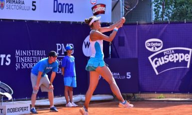 Irina Begu, câştigătoarea trofeului BRD Bucharest Open