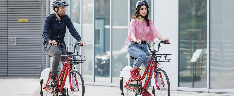 Pegas lansează cel mai inovator sistem de bike sharing din România