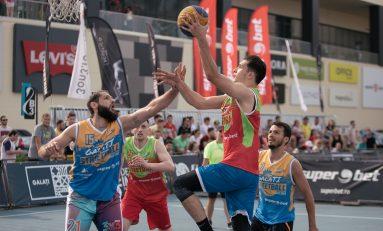 Maraton de baschet 3x3 la Superbet Galați Streetball