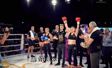 Cristiana Mongol Stancu – în elita Kick-Boxingului mondial