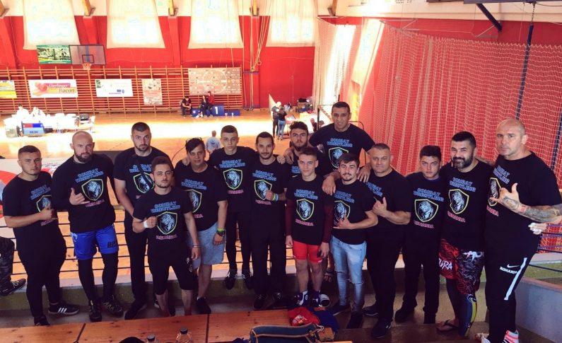 România, reprezentată cu cinste la Europeanul de Combat Wrestling