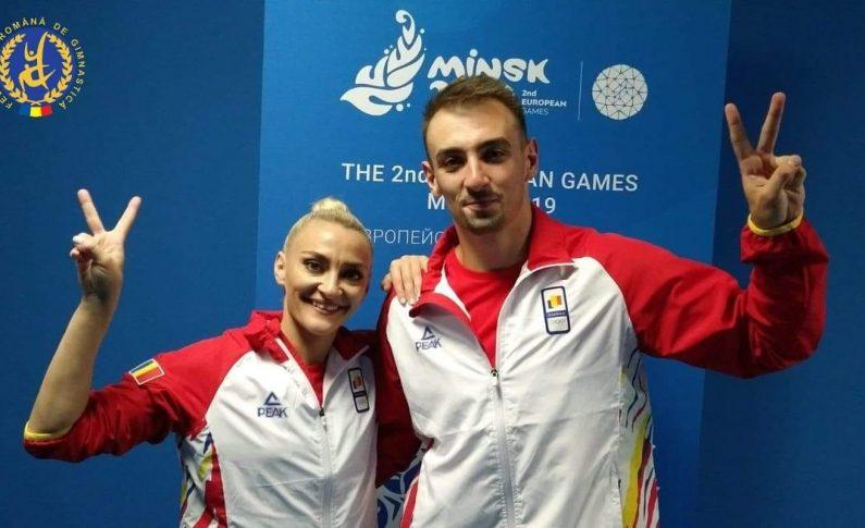 Cuplu_Gimnastica Aerobica_Jocurile Europene_Minsk 2019