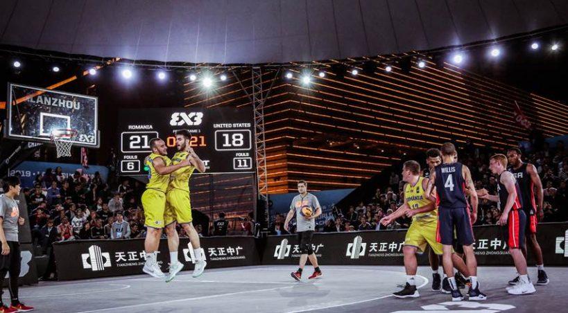 Victorie istorică: România învinge SUA la baschet 3x3, la Campionatele Mondiale U23