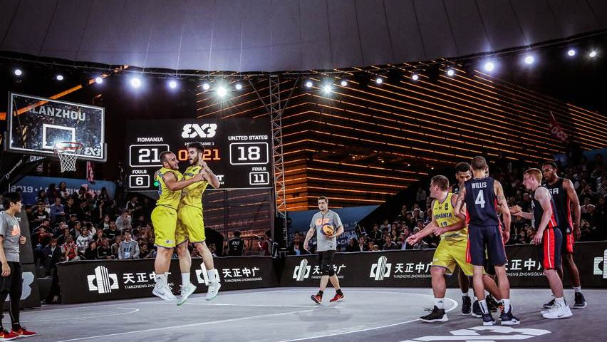 Victorie istorică: România învinge SUA la baschet 3×3, la Campionatele Mondiale U23