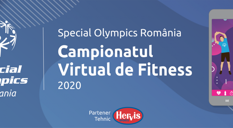 Sportivii Special Olympics Romania la primul Campionat Virtual de Fitness