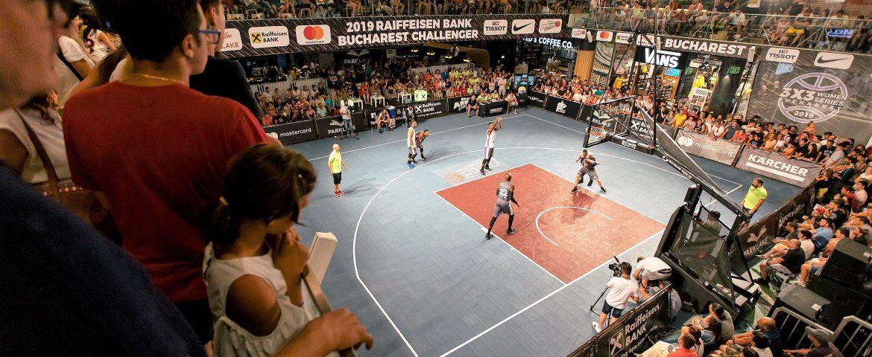 Liga Campionilor la baschet 3×3: Circuitul mondial programat să treacă în premieră prin România!