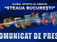 Clubul Steaua are un nou comandant