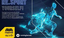 Mega Mall și Running Heroes dau startul provocării Re.SPORT YOURSELF!