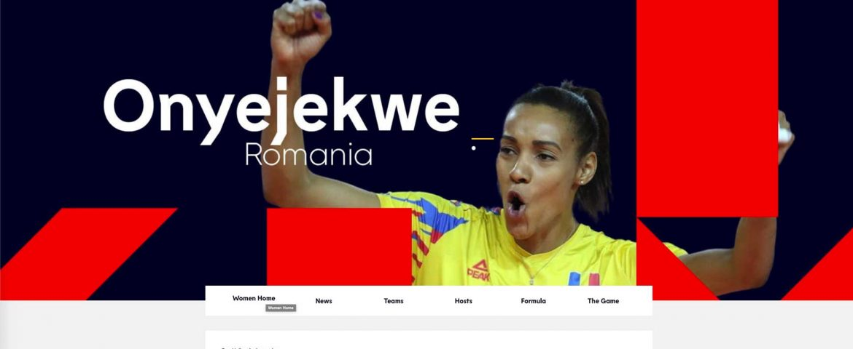 Adelina Ungureanu și Nneka Onyejekwe, ambasadoarele României la EuroVolley 2021