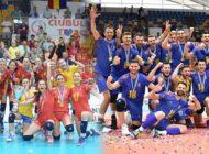 Arcada Galați și CSM Târgoviște, campioanele 2020/ 2021 la volei